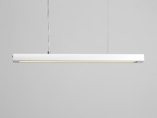Lampa suspendată LINE PLUS M - alb
