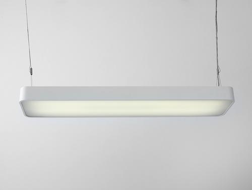 Lampa suspendată LAXO 90x20 - alb