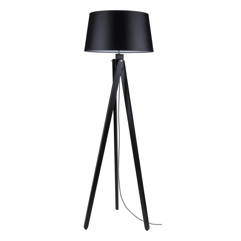 Lampa de podea Rune negru / negru-alb / negru E27 60W