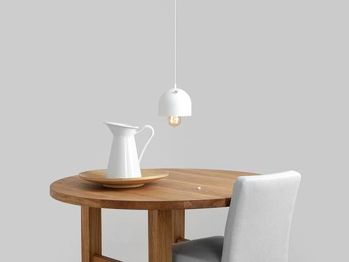 Lampa suspendată POPO 1 - alb