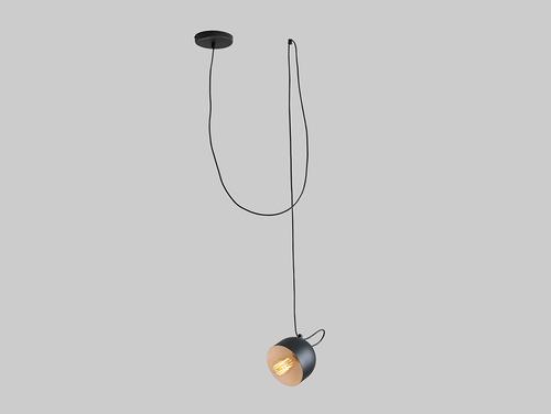 Lampa suspendată POPO 1 - negru