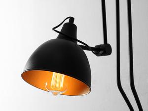 Lampa de perete COBEN WALL 2 - negru small 3