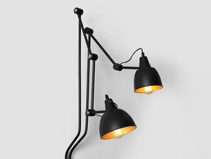 Lampa de perete COBEN WALL 2 - negru small 4