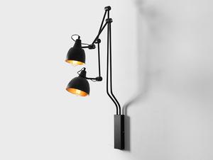 Lampa de perete COBEN WALL 2 - negru small 0