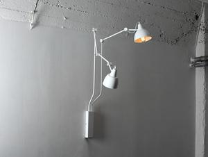 Lampa de perete COBEN WALL 2 - alb small 0