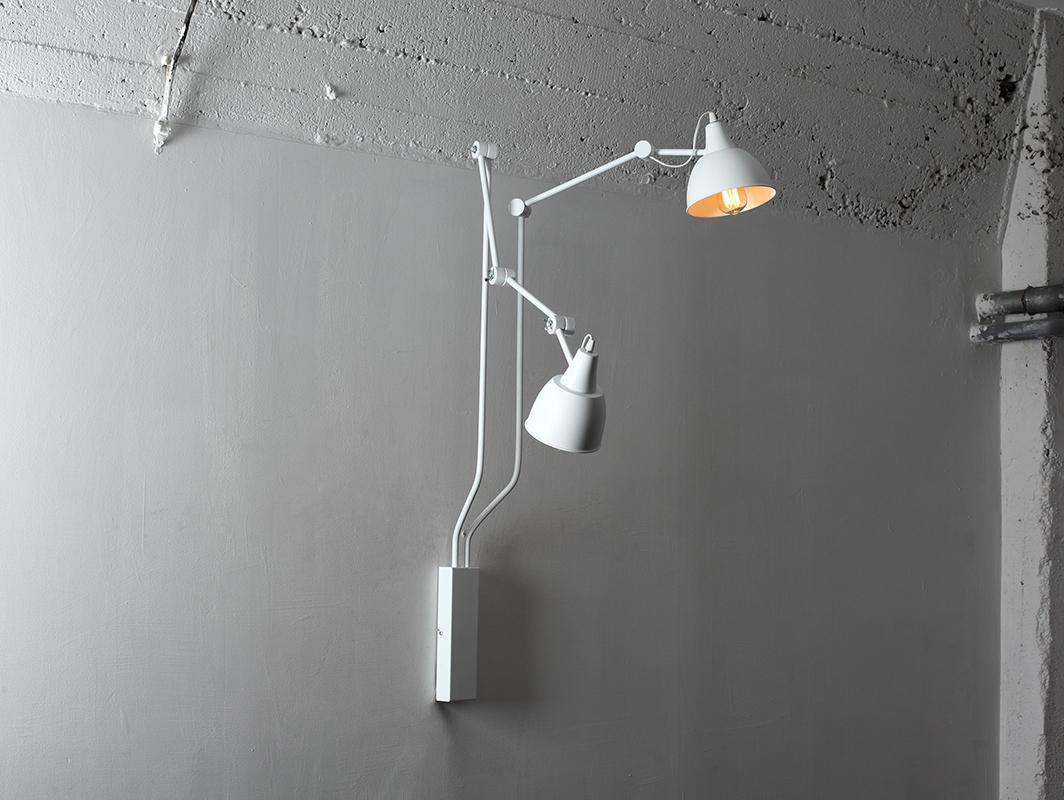 Lampa de perete COBEN WALL 2 - alb