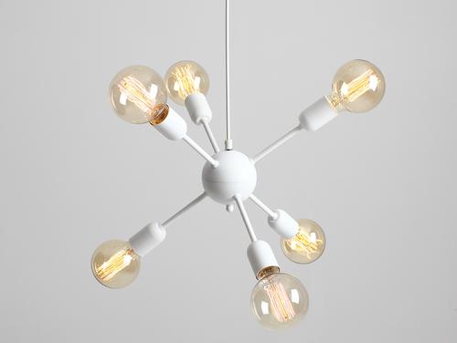 VANWERK BALL lampă cu pandantiv - alb