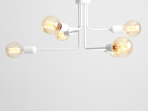 VANWERK 29 lampă suspendată - alb