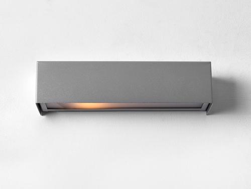 LINE WALL LED S lampă de perete - argintiu