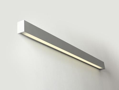 LINE WALL LED L lampă de perete - argintiu
