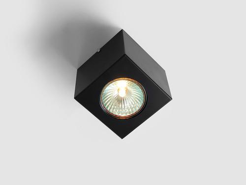 Corp de iluminat plafon FLASS 1 - negru