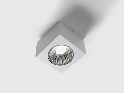 Plafon LED FLASS 1 - alb