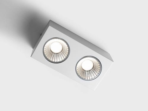 Plafoniera FLASS 2 LED - alb