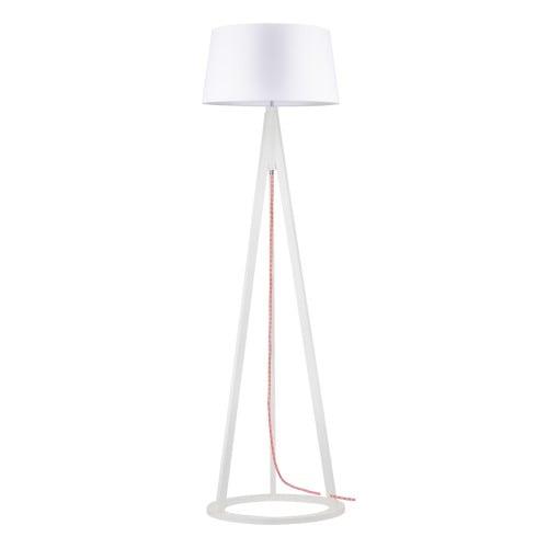 Lampă de podea Konan alb / roșu-alb / alb E27 60W