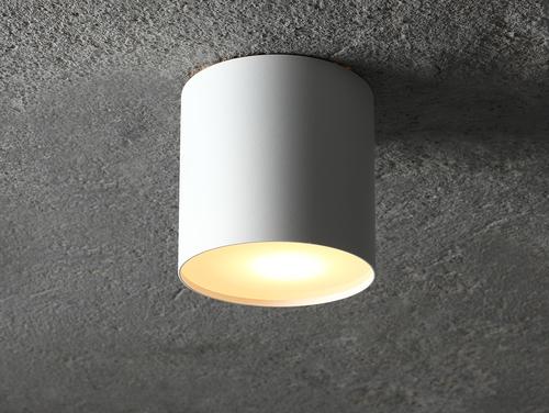 U-LITE M GU10 lampa de tavan - alb