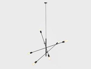 Lampa suspendată TWIGO 6 - negru small 3