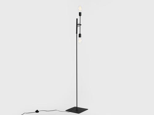 Lampa de podea TWIGO FLOOR 2 - negru