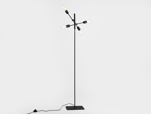 Lampa TWIGO FLOOR 4 - negru