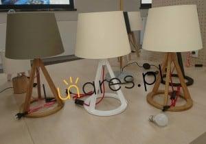 Lampa de masă Konan alb / roșu-alb / alb E27 25W small 1