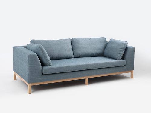 Canapea extensibilă cu trei scaune AMBIENT WOOD
