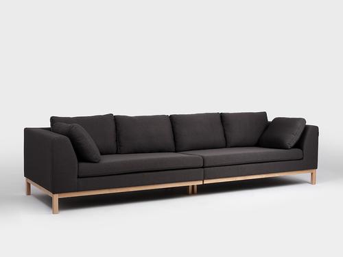 Canapea modulară cu 4 locuri AMBIENT WOOD