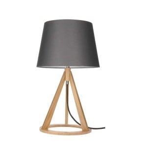 Lampa de masă Konan dąb / antracit / antracit E27 25W small 0