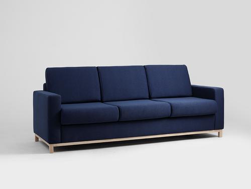 Canapea extensibilă cu trei scaune SCANDIC