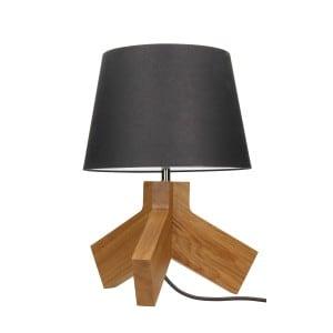 Lampa de masă Tilda dąb / crom / antracit / antracit E27 60W small 0