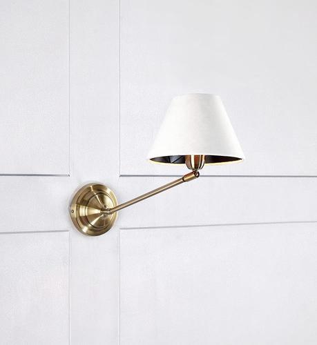 GARDA Lampă de perete 1L Antic / Alb