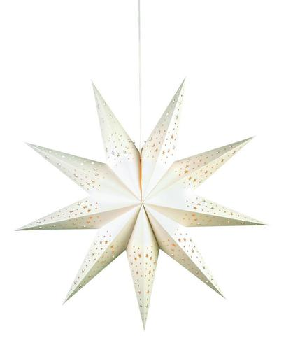 Carte albă OLVALLA Star 75cm