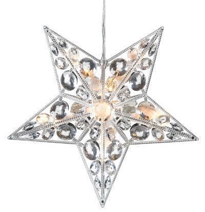 Harnosand Star LED 30cm acrilic