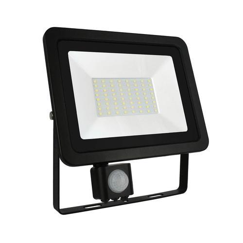 Noctis Lux 2 Smd 230 V 50 W Ip44 Nw Negru Cu Senzor