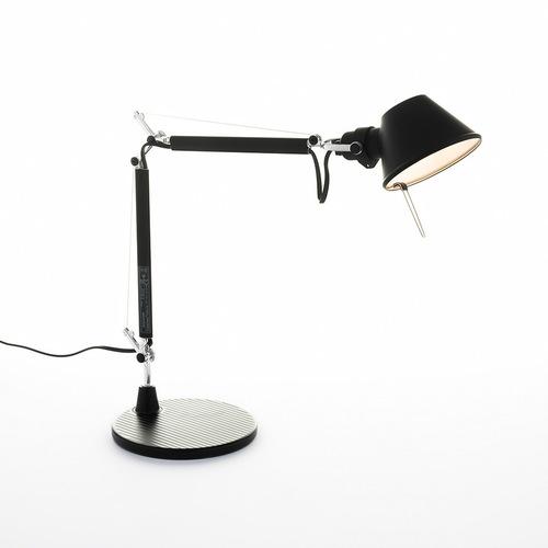 Lampa de masă Artemide Tolomeo Micro negru