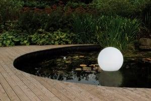 Bilă solară de grădină și culoare LED de 34cm USB, impermeabilă small 2