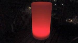 Lampa LED cu coloană impermeabilă cu funcție multicoloră pentru grădină (45 cm) small 2
