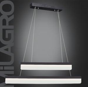 Nisip și negru Lampa suspendată BEAM 402 LED 30W 2100 lm small 1