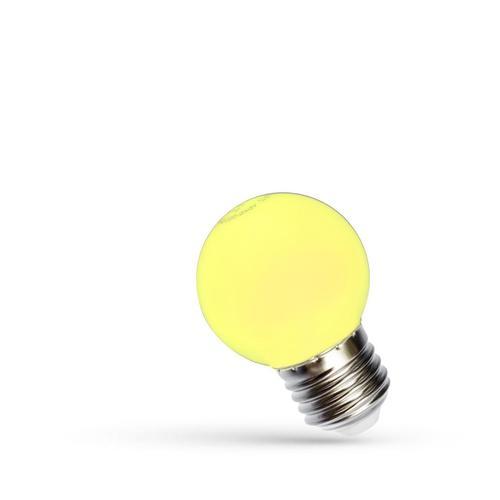Bilă led E27 230 V 1 W Spectru galben