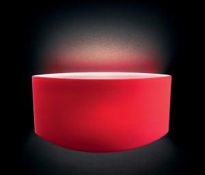 Difuzor Leucos Link Parete Micro Rosso small 0