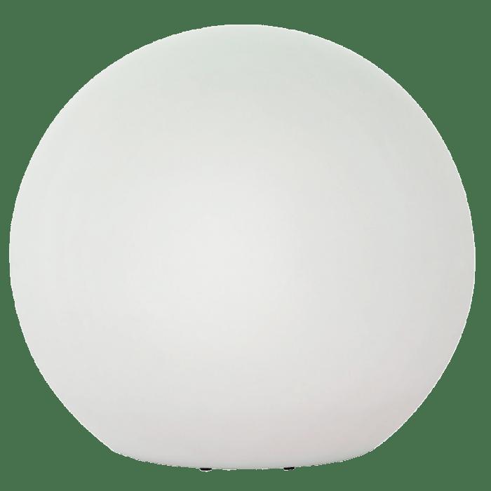 O minge luminoasă de grădină, cu diametrul de 77 cm, 230V 23W