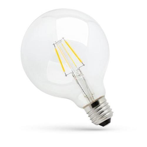 Led Glob G125 E27 230 V 8 W Cog Nw Clear Spectrum