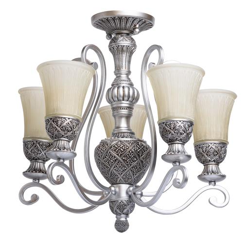 Lampa suspendată Bologna Country 5 Silver - 254013605