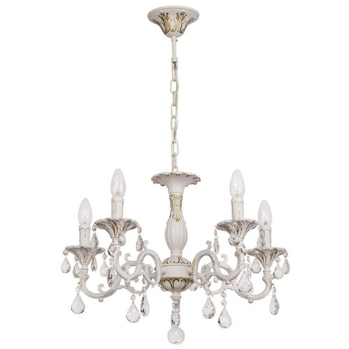Lumânare candelabră Classic 5 White - 301014605