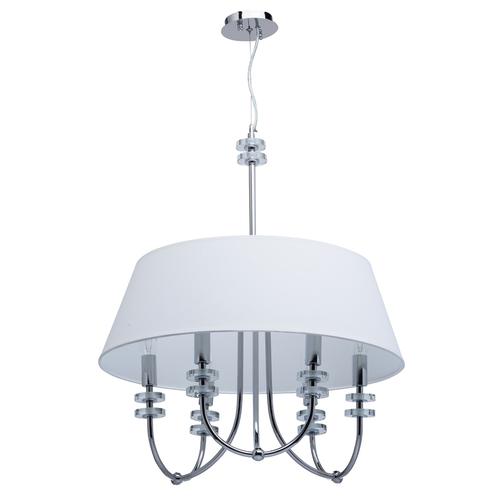 Lampă cu pandantiv Palermo Elegance 6 Chrome - 386010206
