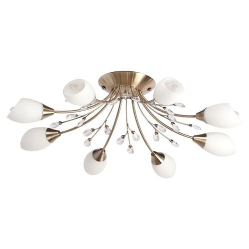 Lampa suspendată Savona Megapolis 8 Brass - 356015308