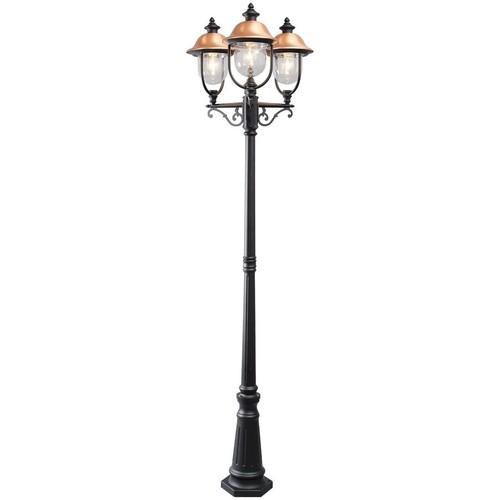 Dubai Street 3 Garden Lantern Black - 805040702