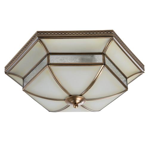 Lampa suspendată Marquis Country 4 Brass - 397010204