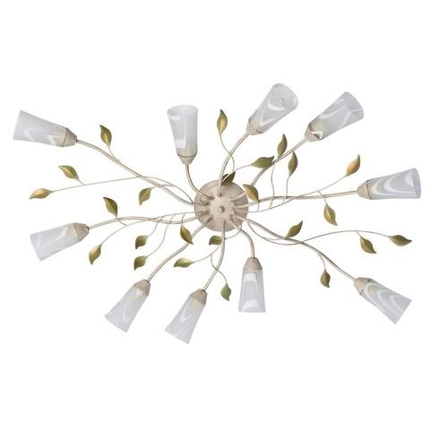 Lampa suspendată Verona Flora 10 Beige - 242015510