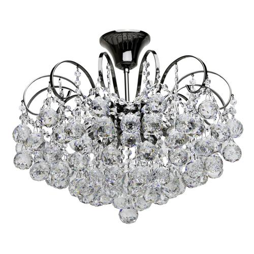 Lampa suspendată Pearl Crystal 6 Gri - 232016306