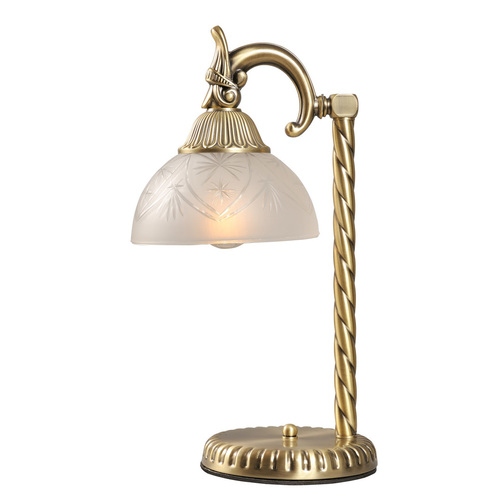 Lampa de masa Aphrodite Classic 1 din alama - 317032301