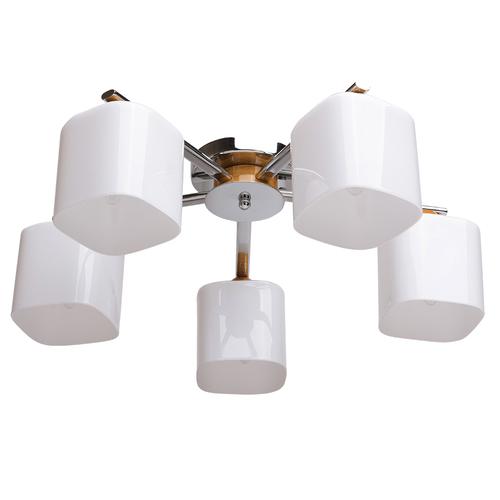 Lampa suspendată Nicole Megapolis 5 Chrome - 364013605
